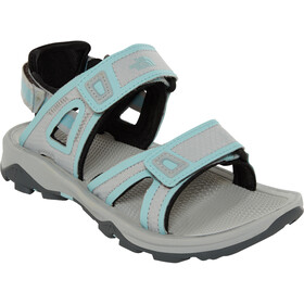 The North Face Hedgehog II Sandalias Mujer, high rise grey/canal blue